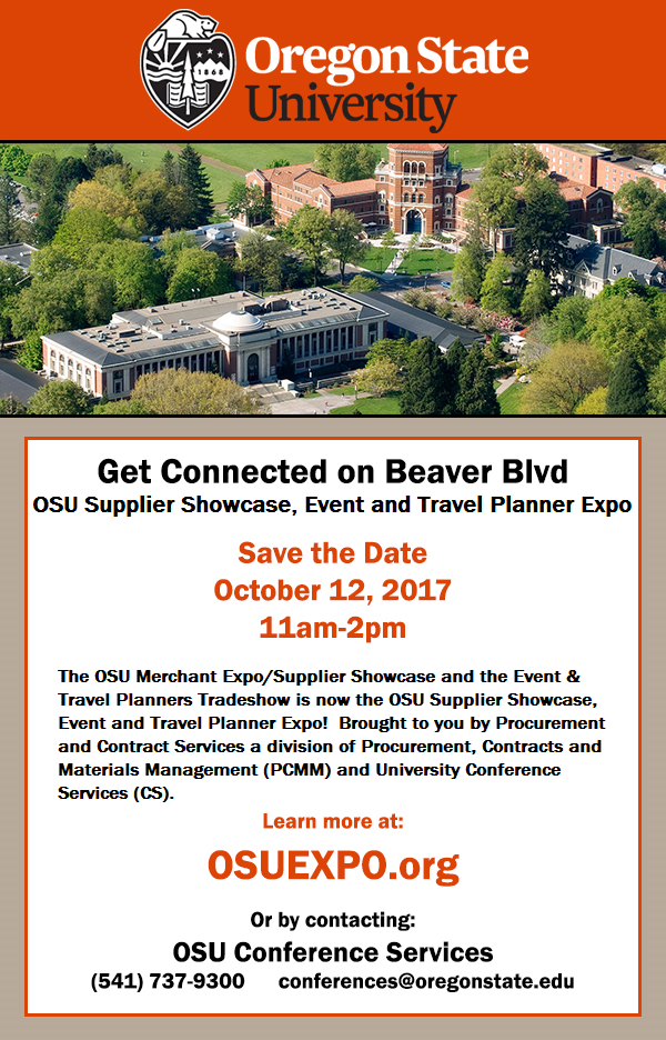 Save the Date - 2017 Supplier Showcase