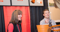 Deanne and Josh at the 2015 Supplier Showcase